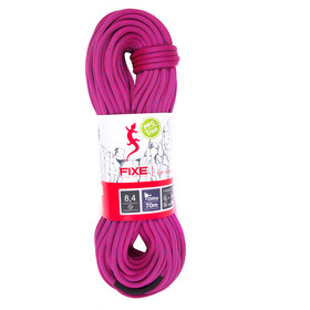 Fixe Fanatic Rope 8,4mm x 50m, neon pink/violet